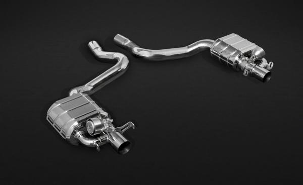 Mercedes AMG C43 & C63 Endschalldämpfer Capristo