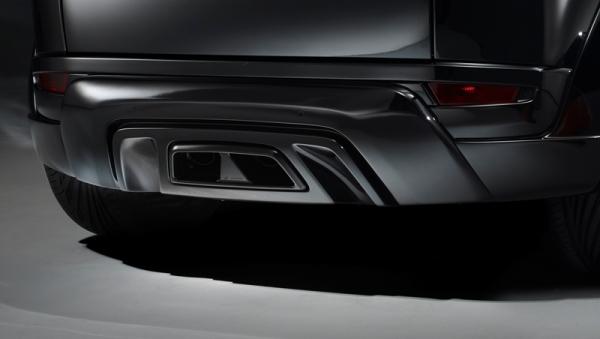 Range Rover Evoque Heckmittelblende Hamann Motorsport