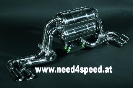Ferrari 360 Modena & Spider Endschalldämpfer Twin Sound Capristo